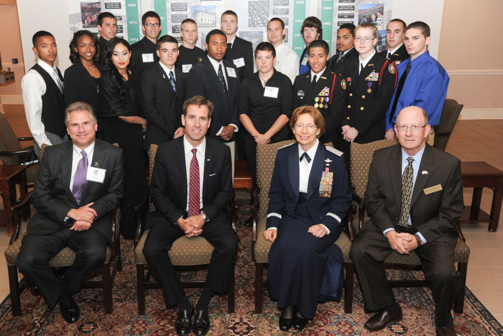 Enlistees honored at the 2012 Our Community Salutes Ceremony